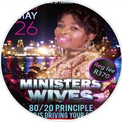 Ministers wives 26 May 2018